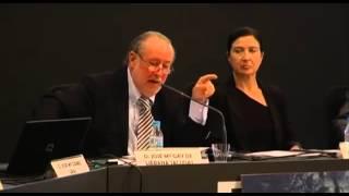 J.M. Gay explicando la realidad de la política económica en España.