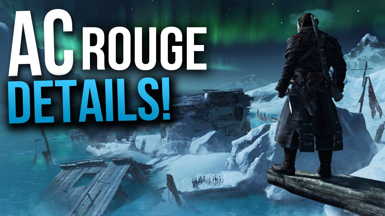 Assassins Creed Rogue Confirmed! Location,Main Character,Release & More! &  Screenshots (AC Rouge)