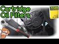 Installing Cartridge Oil Filters (Volkswagen Rabbit Example) • Cars Simplified