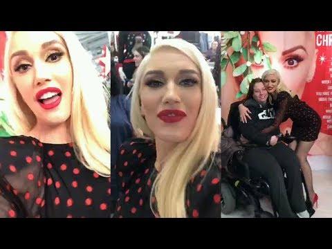 Gwen Stefani | Instagram Live Stream | November 20 2017 ... гвен стефани инстаграм