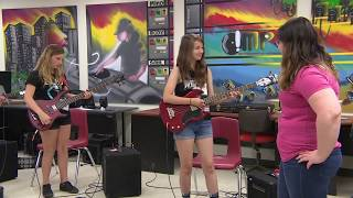 Girls Rock! A summer camp in Regina for girls to learn how to play instruments and write songs