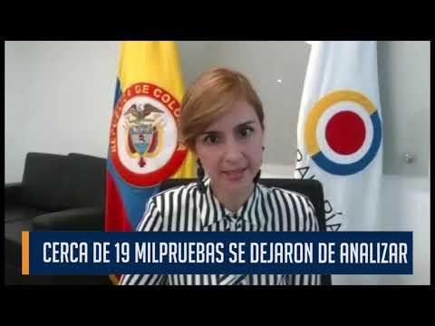 Contraloría General de la República  asegura que s handejadode procesarcerca de19milpruebasCovid-19