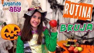 MI RUTINA DE MAÑANA BRUJA 🎃 Hechizos divertidos de Halloween