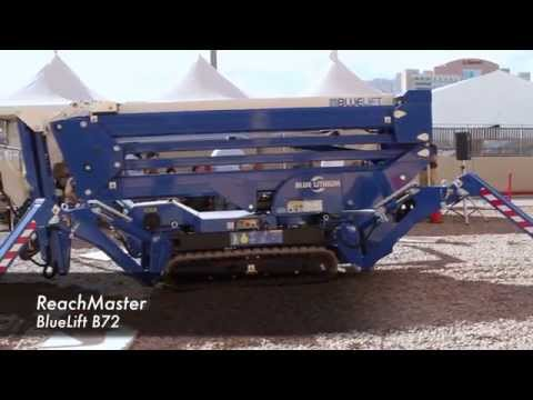 Product Review: ReachMaster Bluelift B72 Compact Aerial Lift