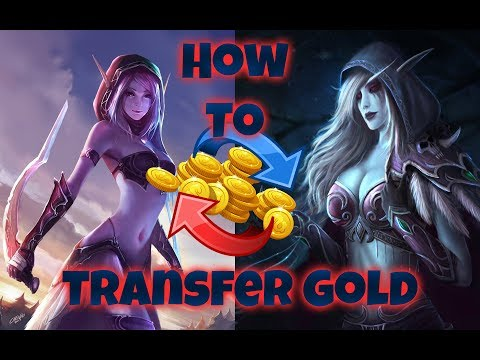 How To Transfer Gold Cross Realm & Faction On World Of Warcraft