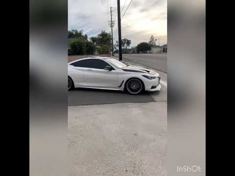 Infiniti Q60 RedSport Exhaust (tuned 510hp)