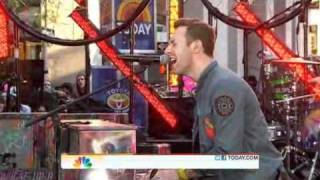 Coldplay - Fix you (from The Today Show, NY)