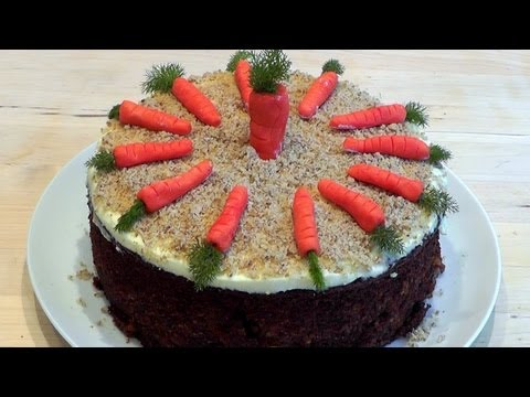 How to Make CARROT CAKE recipe food with Bloopers!