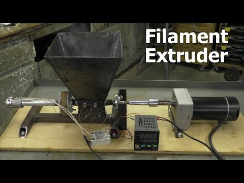Filament Extruder #4 - Finally Making Some Filament
