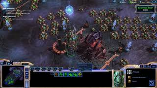 StarCraft II - Wings of Liberty Campaign - 3 player coop - In Utter Darkness - February 10 2019