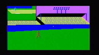 World Series Major League Baseball Intellivision (ECS) Gameplay