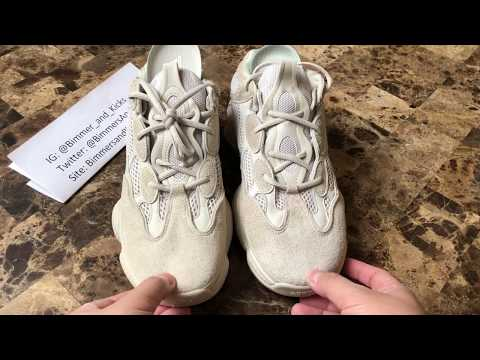 b20b4e5835908 Quick Look at here!! Real vs Fake Yeezy boost 500 Blush PK www ...