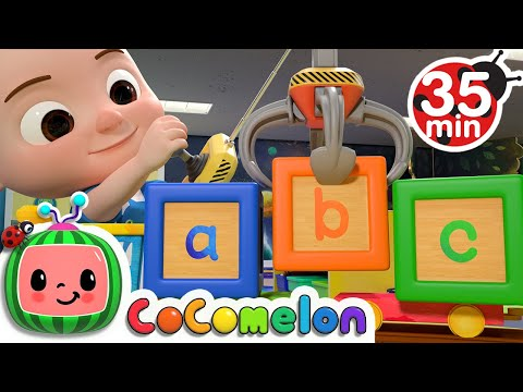 ABC Song With Building Blocks + More Nursery Rhymes & Kids Songs - CoComelon