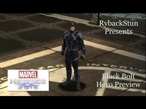Marvel Heroes: Black Bolt Hero Preview!
