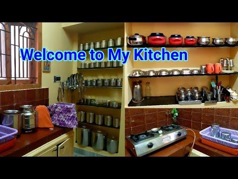 My small non modular kitchen tour/small kitchen ...