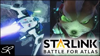 E3 2018: Starlink Battle for Atlas STAR FOX Gameplay (Nintendo Switch)