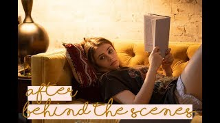 AFTER Movie Behind The Scenes | Josephine Langford, Hero Fiennes-Tiffin, Inanna, Pia Mia