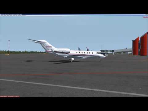 FSX | Cessna Citation X | Предполетная подготовка | Pre-Flight only