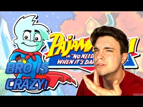 PAJAMA SAM IS ON DRUGS!? RANDOM GAMES WITH JACK! (Pajama Sam) |