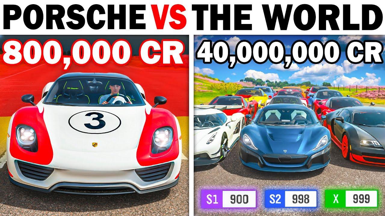 Forza Horizon 4 | Porsche 918 Spyder VS The World | The Quickest Hybrid Hypercar Ever?