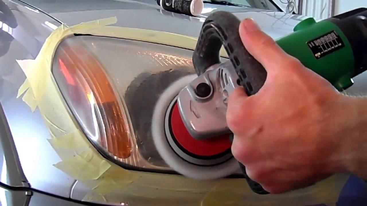 CeriGlass CarPro - полировка фар. Полироль для пластиковых фар.