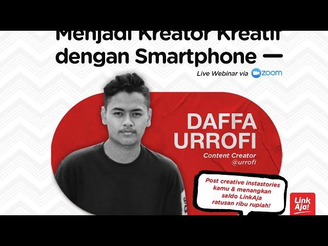 Menjadi Kreator Kreatif dengan Smartphone - Daffa Urrofi X IndiHome Jabbotabek
