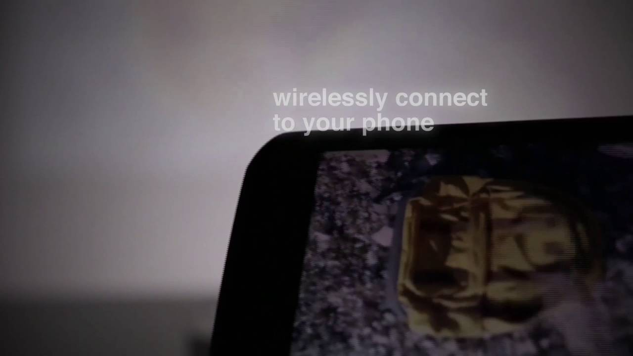 20326dfd8b0300 Wireless Mobile Projector Pro - 200 Lumens. Brookstone
