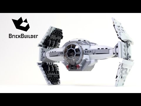 Lego Star Wars 75082 TIE Advanced Prototype - Lego Speed Build - YouTube