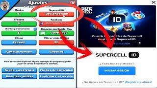 Como Vincular Tu Cuenta De Clash Royale Con Supercell Id Funciona En Android Y Ios Youtube