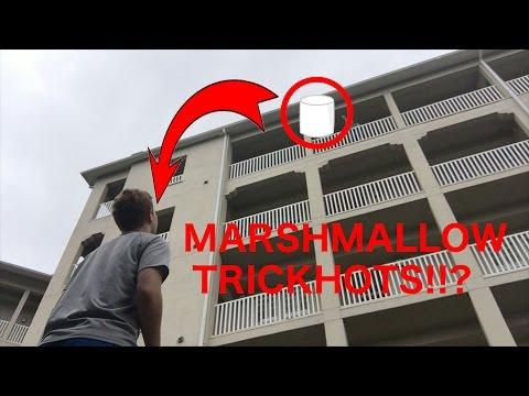 MARSHMALLOW TRICKSHOTS?!?!