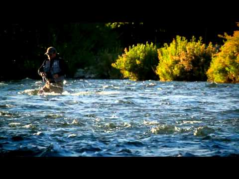 PESCA CON MOSCA FLY FISHING PATAGONIA
