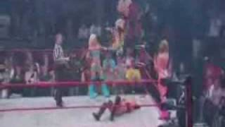 Lacey Von Erich Moonsault Elbow Drop