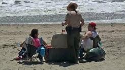 Santa Cruz County Cracks Down on Beach Revelry and Litter