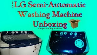 lg best budget washing machine unboxing