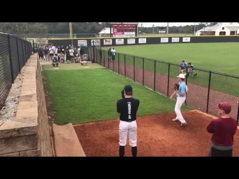 Pitching @ TPL Scout Day at Jones County Junior College