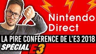 NINTENDO DIRECT, LA PIRE CONFÉRENCE DE L'E3 2018