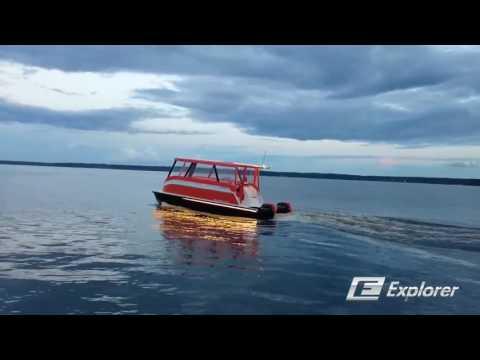 Shuper Моторный катамаран   Explorer