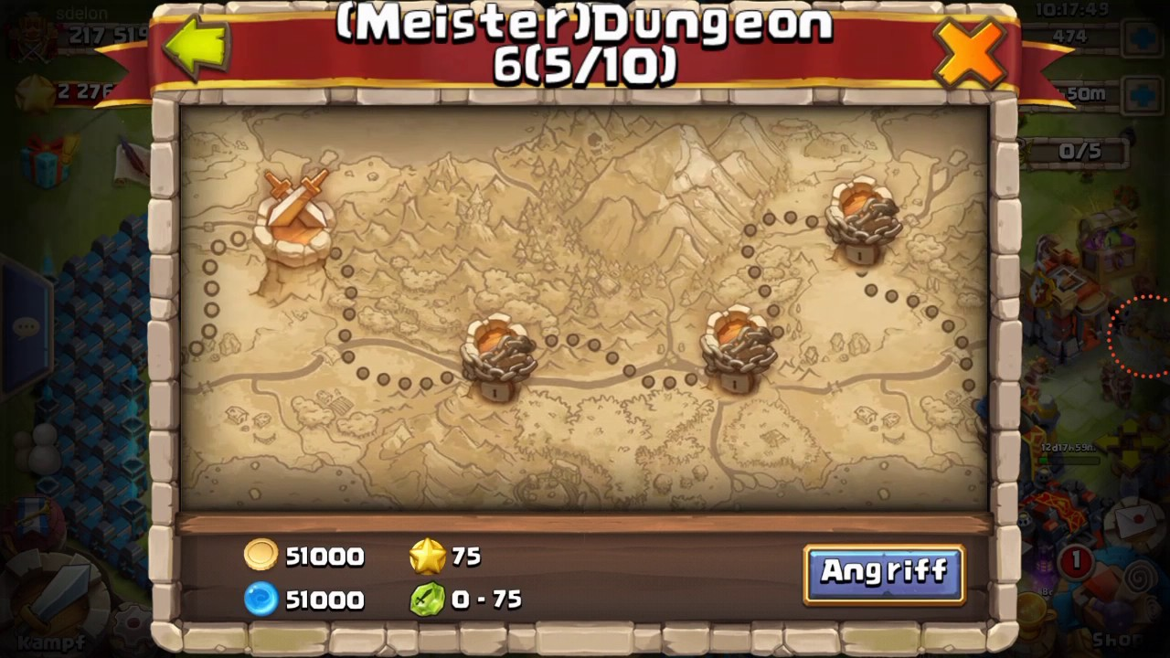 castle clash meister dungeon guide