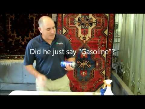 how to clean grease out of carpet