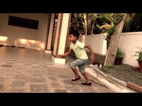 Aadu movie Jayasurya intro inspired little boy