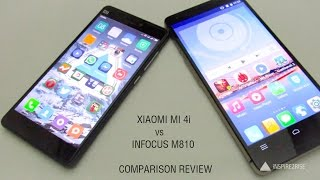 xiaomi mi 4i vs infocus m810 review benchmarks gaming