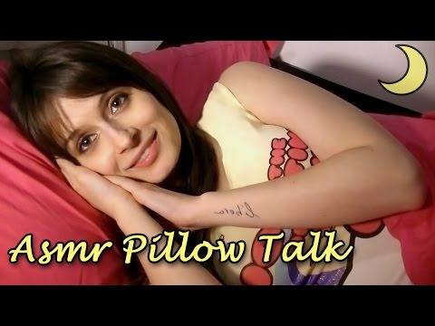 ASMR ITA ♡ PILLOW TALK ROLEPLAY ♡ Yawning & Whispering