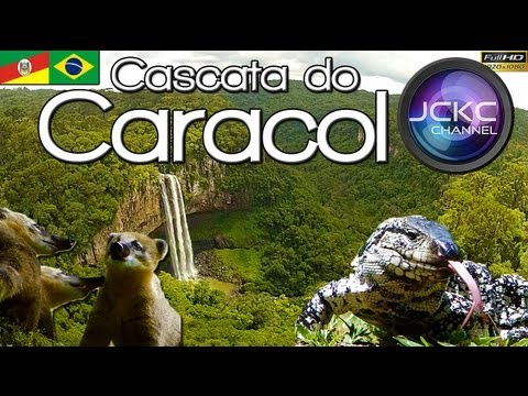 Cascata do Caracol - Canela, Parque do Caracol - Serra Gaúcha - RS Brasil (music by Kevin MacLeod) from YouTube · Duration:  5 minutes 43 seconds