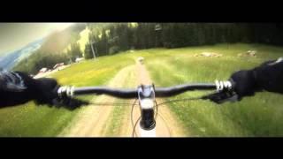 Downhill mountain biking ---Music clip---