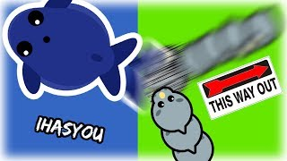 OMG NOT AGAIN!! // MOPE.IO SLAPPED ACROSS THE MAP AND FUNNIEST TROLL MOMENTS !! - iHASYOU