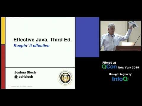 Effective Java, Third Edition - Keepin' it Effective