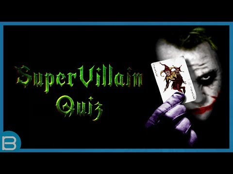 What Is Your Super Villain Type?