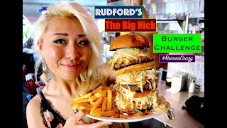 "Rudford's ""Big Nick"" Burger Challenge 