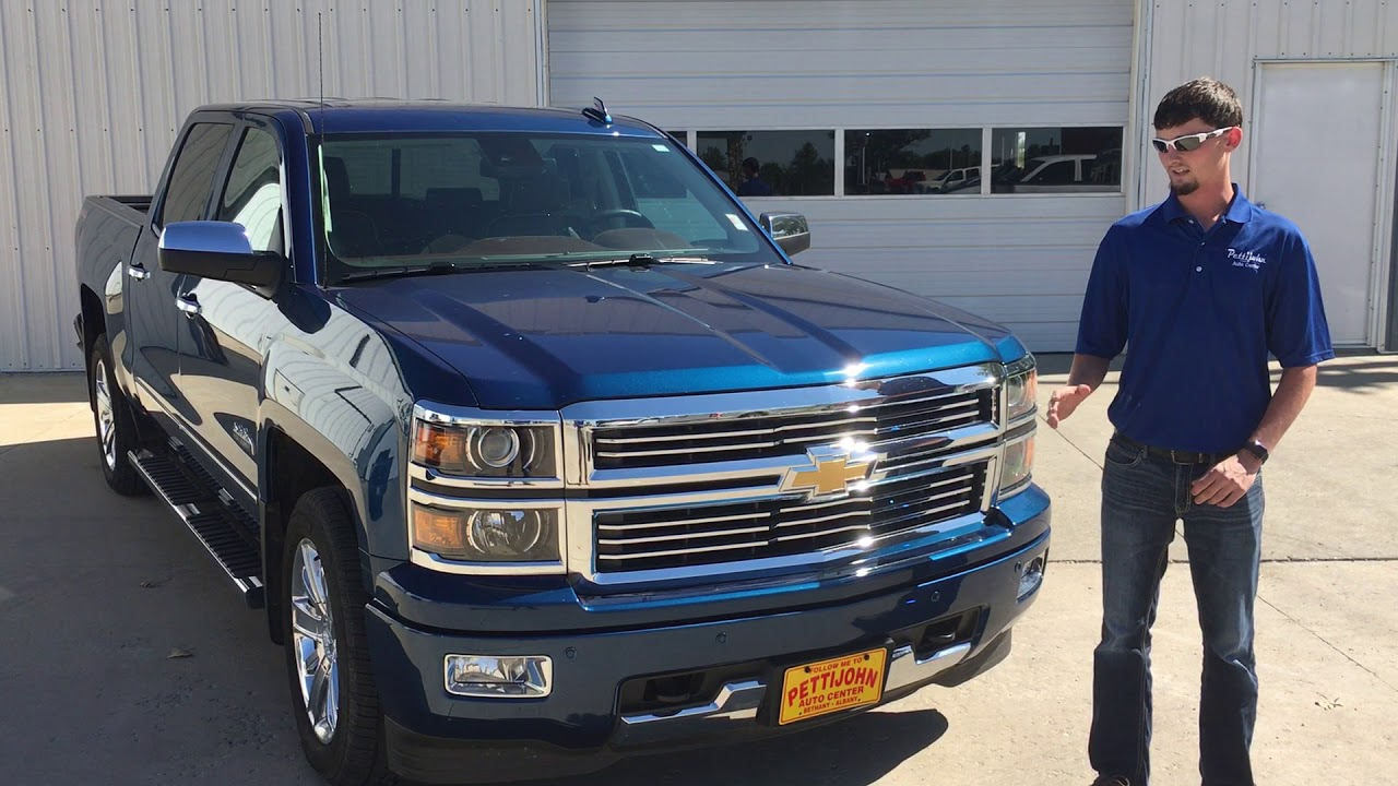 2015 Chevy Silverado High Country Used Trucks For Sale in Bethany MO ...