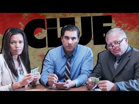 Detectives Play Clue